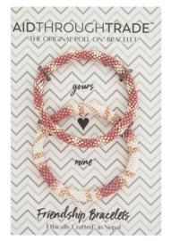 Roll-On® Friendship Bracelets Desert Rose