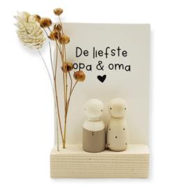 "Cadeaudoosje ""Liefste opa & oma"""