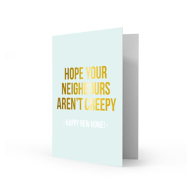 Greeting card happy new home - Studio Stationery
