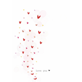 LOVE YOU - Nadine Illustraties