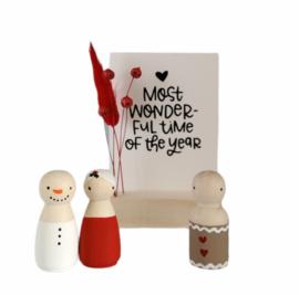 Kerst-collectie Aanvulling cadeaudoosjes 10x