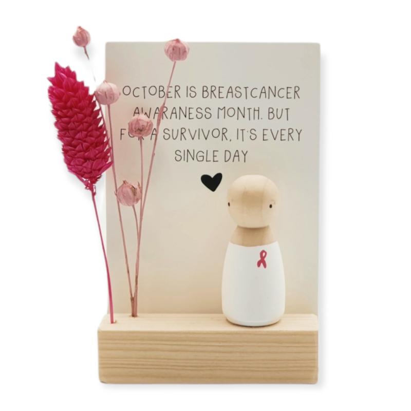 "Cadeaudoosje ""October is breastcancer awaraness month"""