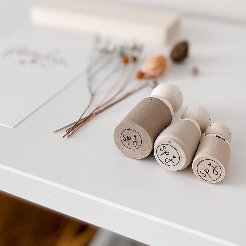 Merk SPJ, houten poppetjes van SPJ | Sweet Petite Jolie