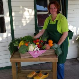 Marga's Verkoopkraam groenten.
