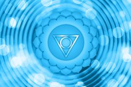 Het keelchakra: balans in het 5e chakra