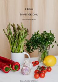 E-boek 'Simpel Gezond'