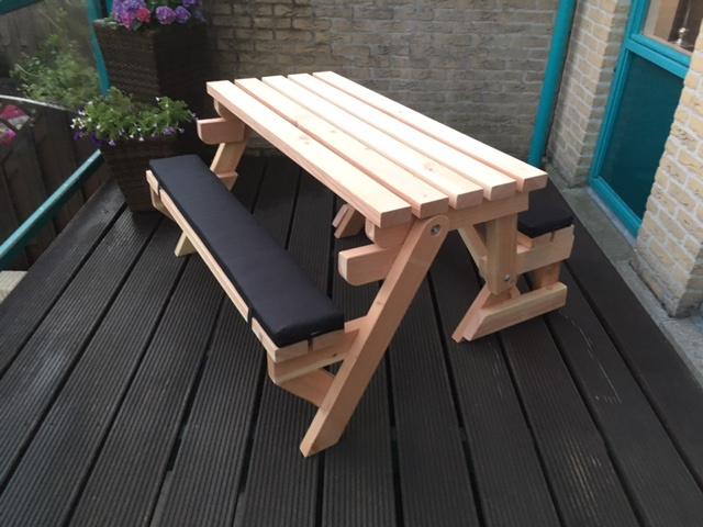 Luxe zitkussens voor model M