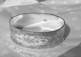 Zilveren  armband met gravure
