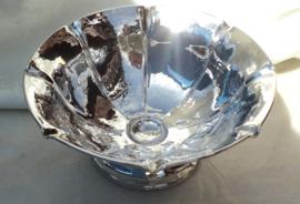 Zilveren serveerschaaltje