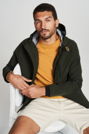 JACKET MID LONG HOODED STRETCH No Excess 11630207