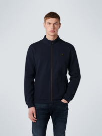 SWEATER FULL ZIP DOUBLE HIGH NECK STRETCH No Excess 11100218