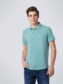 POLO PIQUE STRETCH STONE WASHED ORGANIC COTTON No Excess 11370101SN