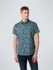 SHIRT SHORT SLEEVE ALL OVER PRINTED STRETCH No Excess 11420309