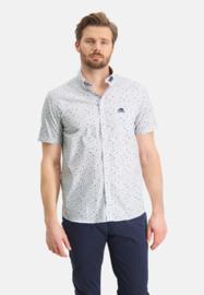 State of Art Overhemd met een zak op de borst 26411303