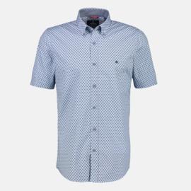 Lerros Korte mouwen shirt AOP 2122136