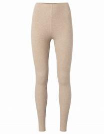 Jersey cotton rib legging