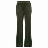 Velvet pant green