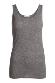 Coco wool top - Light grey melange