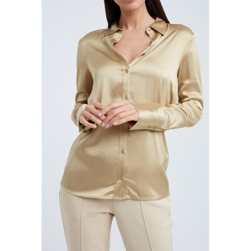 Satin stretch blouse YAYA