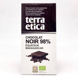 Chocolat noir 98%