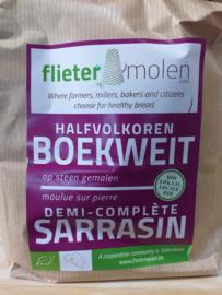Farine sarrasin demi-complète (1kg)