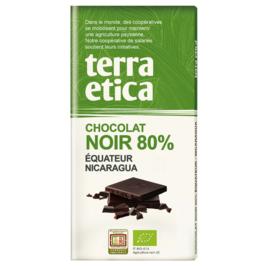 Chocolat noir 80% Equateur et Nicaragua