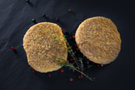 Kippen hamburgers (per 2 stukken)