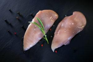 Kipfilets met vel (per 2 stukken)