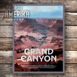 Grand Canyon NP sign | aluminium