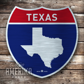 Interstate Sign Texas | aluminium