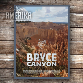 Bryce Canyon NP sign | aluminium