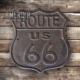 Route 66 sign | gietijzer