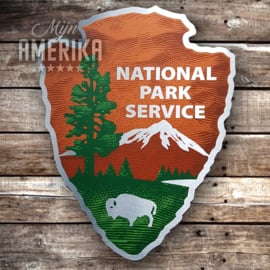 Nat. Park sign | aluminium