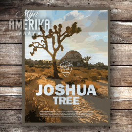 Joshua Tree NP sign | aluminium