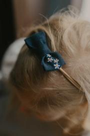 Mini By Tutti // Haarband strikje blauw