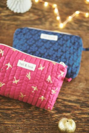 Holi & Love // Small bag - magenta goldbird