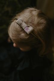 Mini By Tutti // Haarband strikje beige