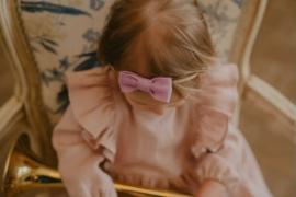 Mini By Tutti // Haarband strikje lila