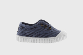 Victoria // Sneaker Azul zebra