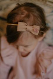 Mini By Tutti // Haarband strikje oud roze