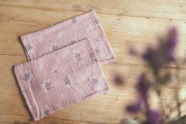 Mundo Melocotón // Washandjes - pink heather