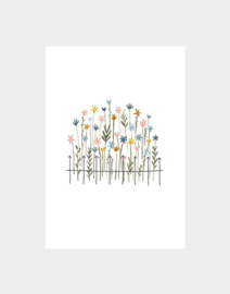Klein Liefs // Kaartje Blanco bloemen