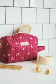 Holi & Love // Big bag - magenta goldbird