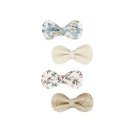 Mimi & Lula // Floral gracie bow clips
