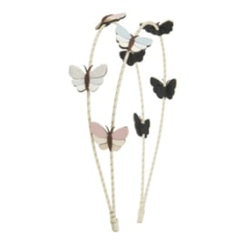 Mimi & Lula // Rainforest butterfly double alice band