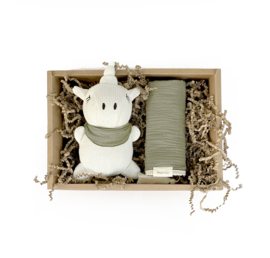 Mrs Ertha // Unicorn babybox olive