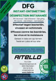 DFG-instant ontsmetting 1 Liter