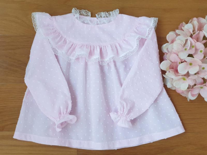 ♡  Pink Blouse ♡