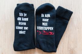 Sokken 'Max Verstappen'