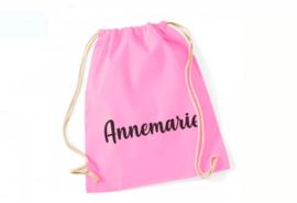 Katoenen rugzak met naam | Annemarie